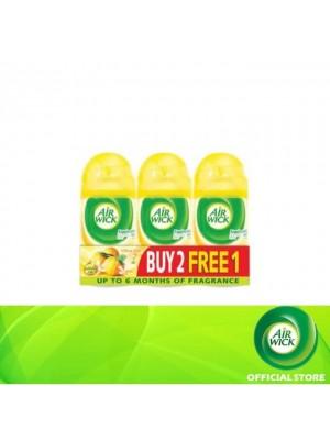 Air Wick Pure Citrus Zest Freshmatic Refill 3 x 250ml (Buy 2 Free 1)