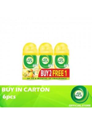 Air Wick Pure Citrus Zest Freshmatic Refill 6 x 3 x 250ml (Buy 2 Free 1)