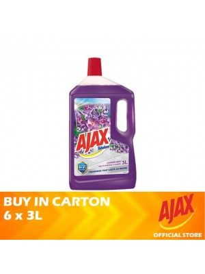 Ajax Fabuloso Lavender Fresh Multi Purpose Cleaner 4 x 3L