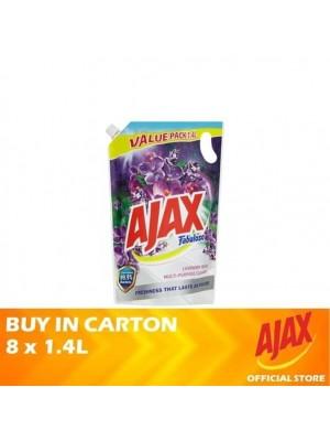 Ajax Fabuloso Lavender Fresh Multi Purpose Cleaner Refill 8 x 1.4L