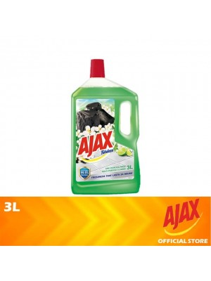 Ajax Fabuloso Lime Charcoal Fresh Multi Purpose Floor Cleaner 3L