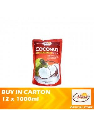 Akasa Coconut Milk (Pouch) 12 x 1000ml