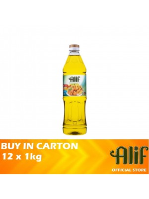 Alif Palm Cooking Oil 12 x 1kg