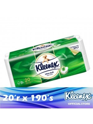 Kleenex Clean Care 3ply Aloe Vera 20'r x 190's