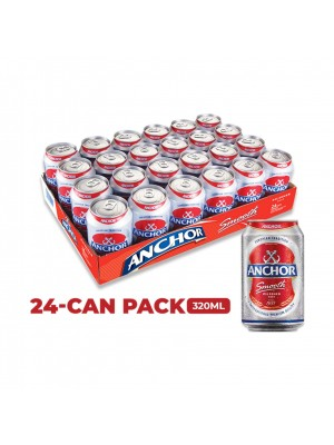 Anchor Smooth Pilsener Beer 24 x 320ml