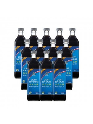 Angel Light Soy Sauce (Select) 12 x 750ml [Essential]