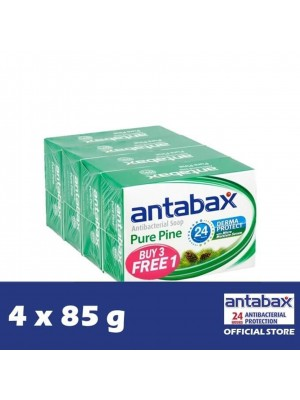 Antabax Anti-Bacterial Body Soap - Pure Pine 4 x 85g