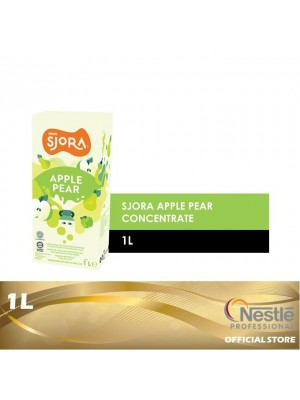 5F. Nestle Professional SJORA Apple Pear Concentate 1L [Essential]