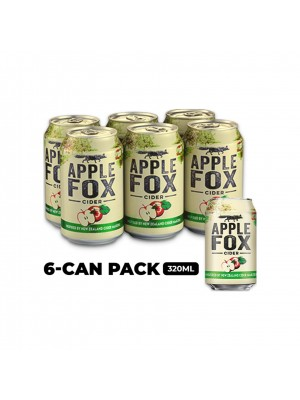 Apple Fox Cider 6 x 320ml