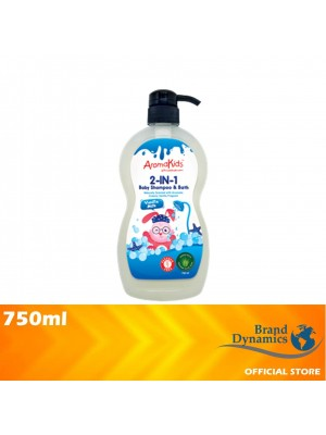 AromaKids 2 in 1 Shampoo & Bath Vanilla Milk 750ml [MUST BUY]