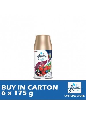 Glade Auto Spray Fresh Berries Refill 6 x 175g