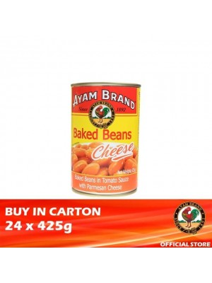 Ayam Brand Baked Beans Cheese 24 x 425g [Essential]