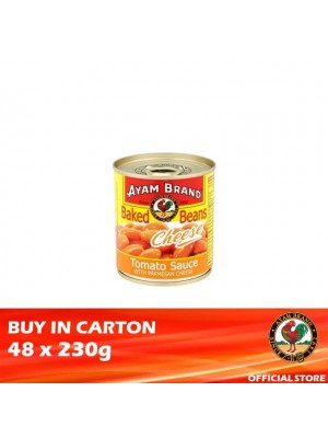 Ayam Brand Baked Beans Cheese 48 x 230g