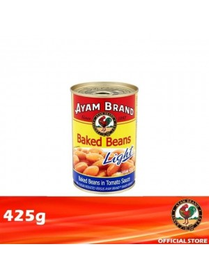 Ayam Brand Baked Beans in Tomato Sauce - Light 425g [Essential]