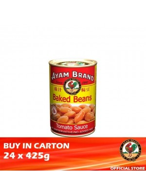 Ayam Brand Baked Beans in Tomato Sauce 24 x 425g