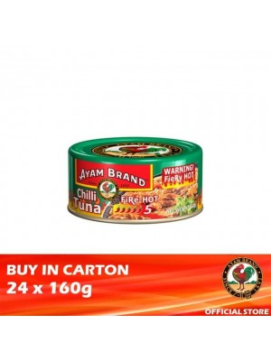 Ayam Brand Chilli Tuna Fire Hot 24 x 160g