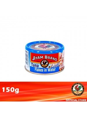 Ayam Brand Classic Light Tuna Flakes in Water 150g [Essential]