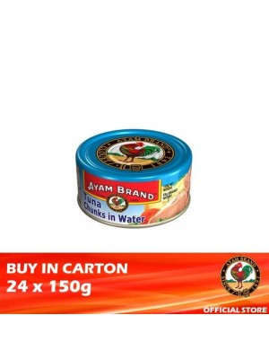 Ayam Brand Classic Tuna Chunks in Water 24 x 150g