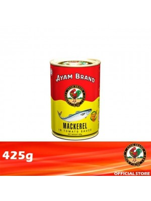Ayam Brand Mackerels in Tomato Sauce - Tall 425g [Essential]