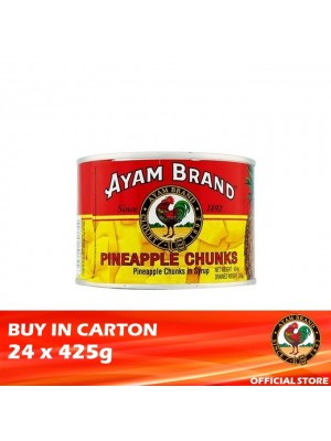 Ayam Brand Pineapple Chunks in Syrup 24 x 425g [Essential]
