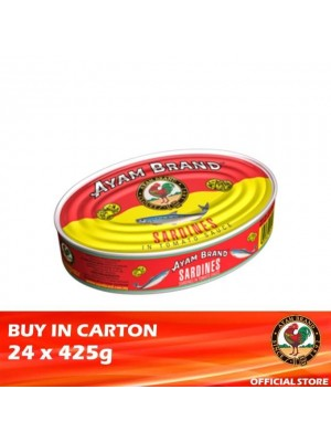 Ayam Brand Sardines in Tomato Sauce - Big Oval 24 x 425g