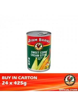 Ayam Brand Sweetcorn Cream Style 24 x 425g