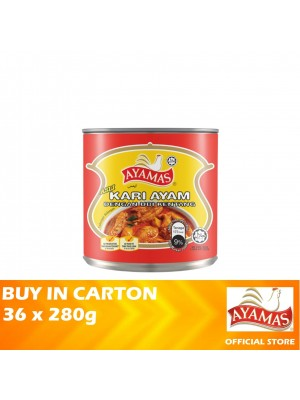 Ayamas Chicken Curry with Potato Original 36 x 280g