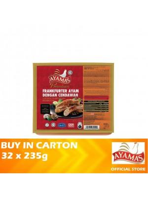 Ayamas Chicken Frankfurters Mushroom 32 x 235g