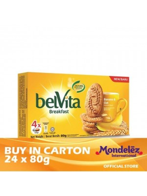Belvita Banana & Oat 24 x 80g