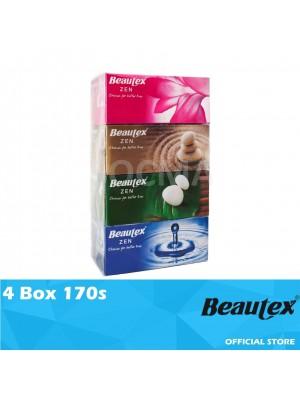 Beautex Box Tissue 4Box 170s