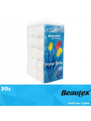 Beautex Super Save Toilet Roll Multipack 30s