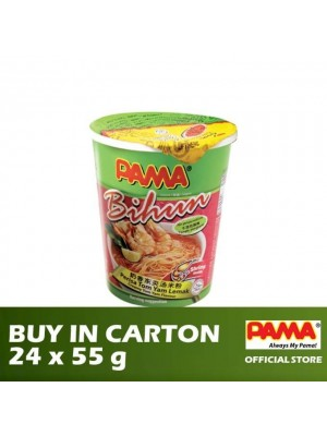 Pama Instant Bihun Cup Creamy Tom Yam Flavour 24 x 55g