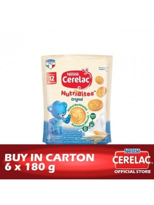 Nestle Cerelac Biscuits Nutribite Original 6 x 180g