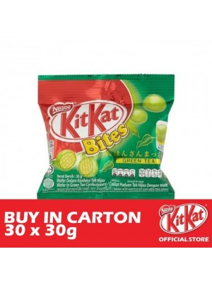 Nestle KitKat Bites Green Tea 30 x 30g