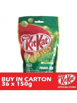 Nestle KitKat Bites Green Tea 36 x 150g