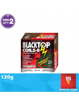 Blacktop Mosquito Coil II Twin Pack 120g