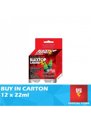 Blacktop Mosquito Liquid Refill Twin Pack 12 x 22ml