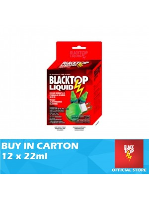 Blacktop Mosquito Liquid Twin Pack With Heater 12 x 22ml