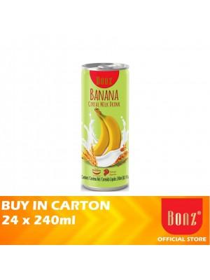 Bonz Cereal Milk Banana Flavour 24 x 240ml