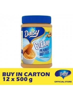 Daisy Bread Spread Peanut - Creamy 12 x 500g