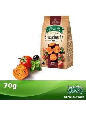 Bruschette Maretti Tomato, Olives & Oregano Flavour Baked Bread Snack 70g [Essential]