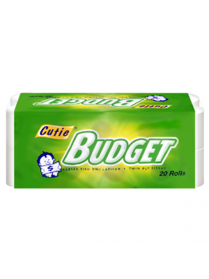 Cutie Budget Toilet Roll 20'r (3600's)
