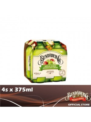 Bundaberg Apple Cider 4s x 375ml
