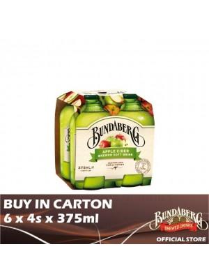 Bundaberg Apple Cider 6 x 4s x 375ml