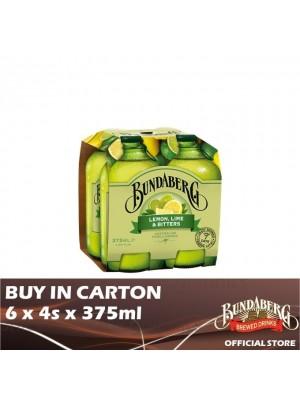 Bundaberg Lemon Lime & Bitter 6 x 4s x 375ml