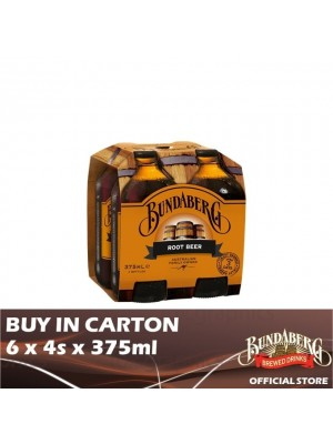 Bundaberg Root Beer 6 x 4s x 375ml