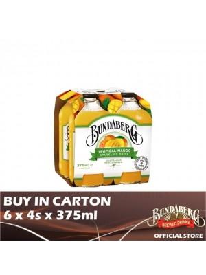 Bundaberg Tropical Mango 6 x 4s x 375ml