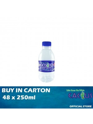 Cactus Mineral Water 48 x 250 ml
