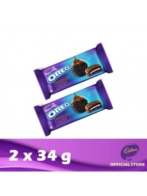 Cadbury Dairy Milk Oreo Chocolate Coated 2 x 34g (EXP : 09/2021) [MUST BUY]