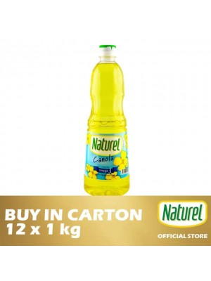 Naturel Pure Canola Oil 12 x 1kg